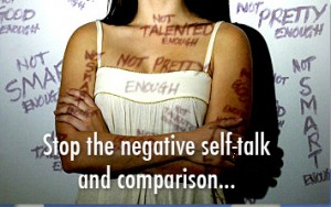 stop the negative self talk